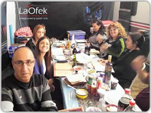משפחת לנציאנו - לקוחות לאופק קרוואנים מספרים